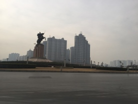 This is a statue of some general - Handan, China.